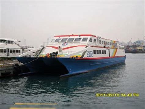boat manufacturers in south korea passenger high speed catamaran ferry 35kn for sale daily