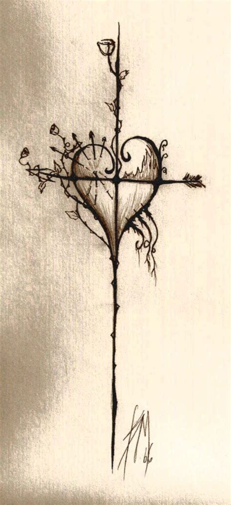 cross my heart tattoo 1000 ideas about sword on tattoos