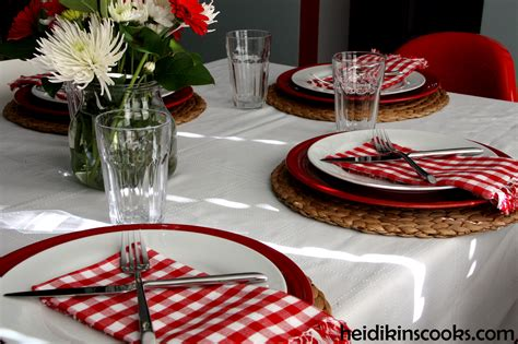 casual table setting casual valentine s day table setting heidikins cooks