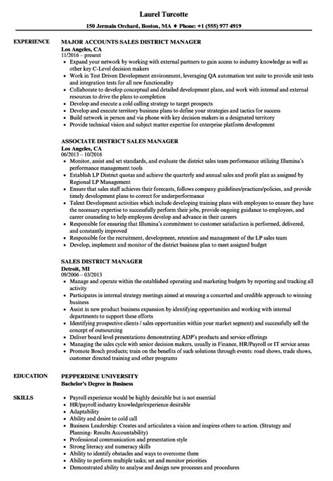 District Manager Resume by District Manager Resume Annecarolynbird