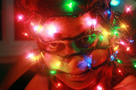 23 christmas lights photos with a twist