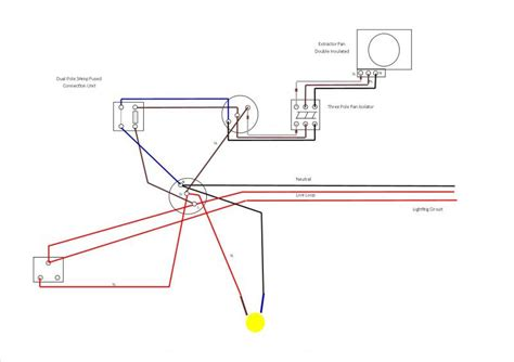 wiring diagram extractor fans bathrooms diagram
