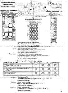 SOLVED: Fuse box diagram for 2004 mercedes sedan 4 dr. - Fixya