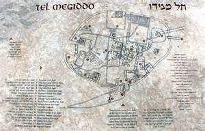megiddo map of the tel preachersmith