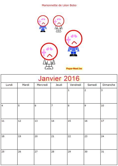 Calendrier 5 Janvier 2015 Pour Enfants 2017 Calendriers Janvier 2016 224 Imprimer 20