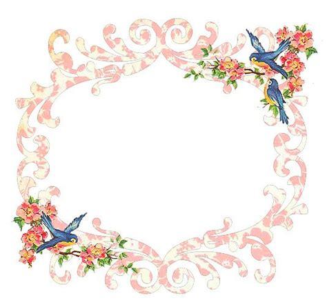 Bingkai Foto Frame Shabby freebie blue bird frame free pretty things for you