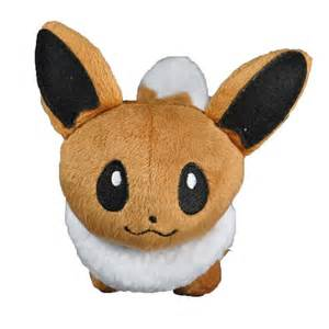 Pokemon plush eevee eievui figure soft stuffed animal plush toy around