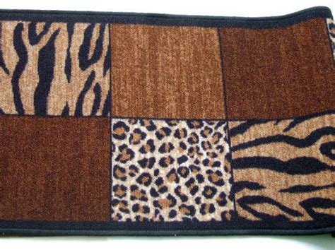 Leopard Print Runner Rug Tiger Leopard Print Rug Runner Safari Decor