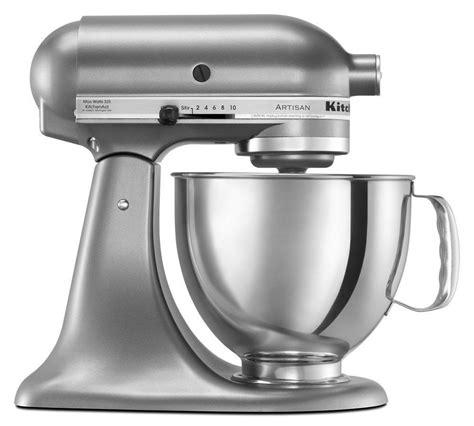 kitchenaid artisan 5 qt silver new kitchenaid artisan ksm150pscu 5 quart stand mixers all