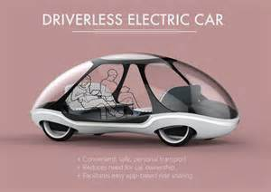 Electric Car Design Experimental Electric Driverless Car Design Mki Joshua