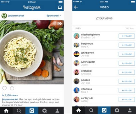 instagram mobile instagram views to replace like counter on