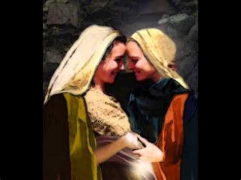 imagen de la virgen maria visitando a su prima isabel segundo misterio gozoso la visitaci 243 n de la virgen mar 237 a
