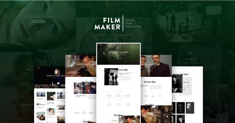 Best Website Template For Filmmakers The Best Beloved And Selling Filmmaker Wordpress Theme 2017 Filmmaker Website Template