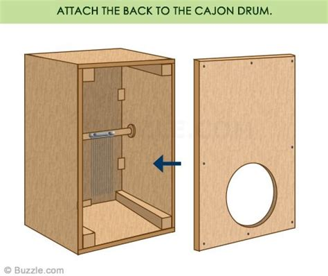 tutorial cajon drum quick and easy steps to build your own cajon drum box