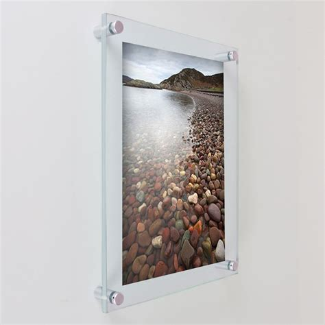 Wall Frame Acrylic A4 Model Lipat wholesale 8x10 wall mounted magnetic acrylic photo block