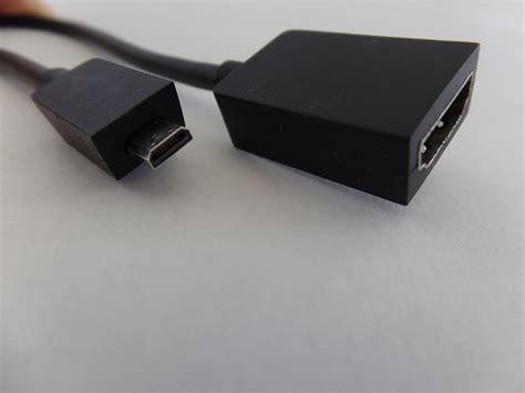 microsoft surface 1 2 hd digital av adapter hdmi hdtv displays z2s 00013 ebay