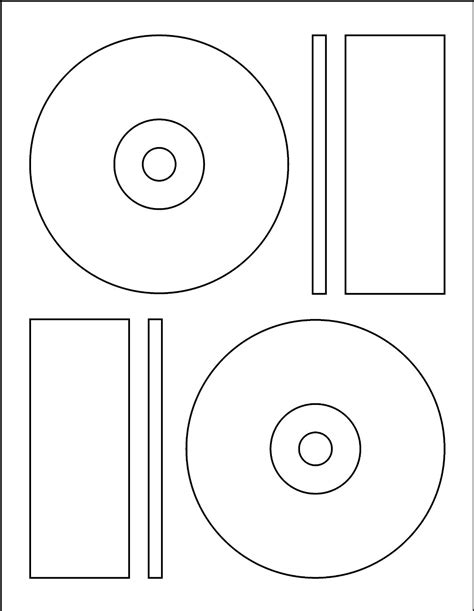 Cd Label Template Beepmunk Cd Label Template