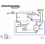 On All 2 Speed Wiper Motors The Wires Which Actually Go To