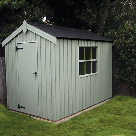 Crane Sheds by Buy National Trust By Crane Peckover Garden Shed 1 8 X 3m