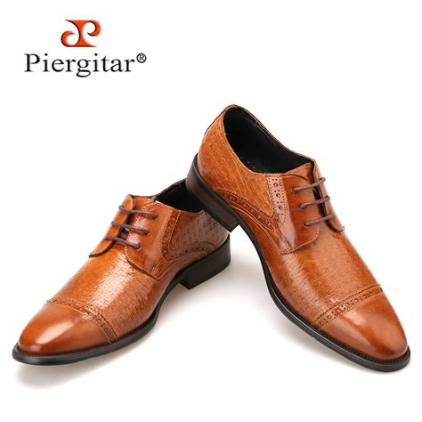 Best S Dress Shoe 2018 by Genuine Leather Brown Shoes 2018 Italian Style Casual Shoe Dress Shoes For Wedding And