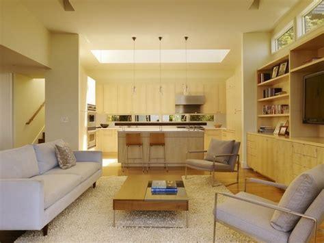 s駱aration vitr馥 entre cuisine et salon la cuisine open space une tendance qui ne s essoufle pas