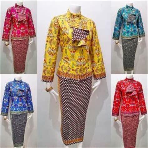 Batik Setelan Encim Manohara Srb setelan rok dan blus batik cantik murah batik