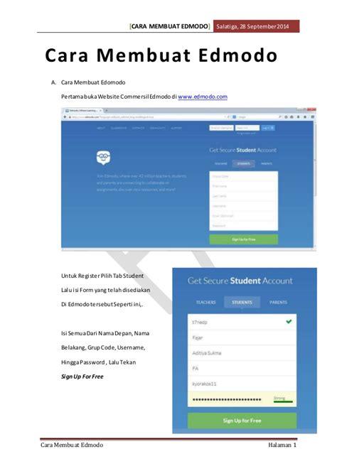 tutorial edmodo bagi guru cara membuat edmodo beserta beberapa fungsi pada setting