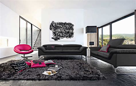 Living Room Black Sofa Living Room Inspiration 120 Modern Sofas By Roche Bobois Part 2 3 Architecture Design