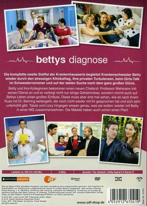 bettys diagnose bettys diagnose staffel 2 dvd oder leihen