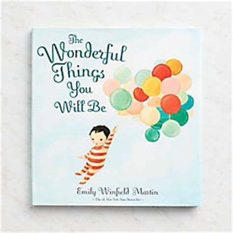 the wonderful things you will be books gifts for book paper source