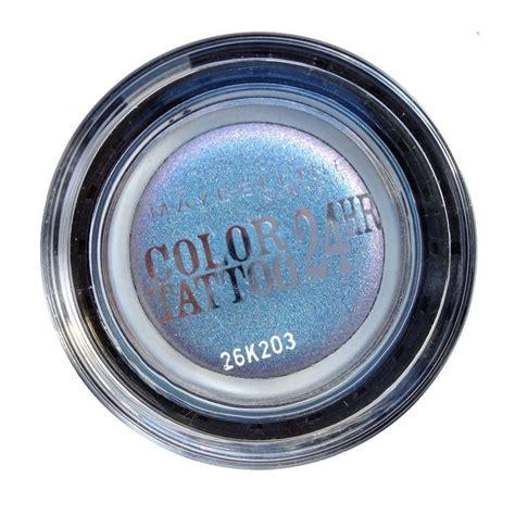 color tattoo cream eyeshadow maybelline maybelline eye studio color tattoo 24 hour cream eyeshadow