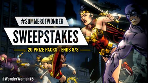 Popgadget Prize Contest Updates by Welcome To The Summer Of Dc Universe