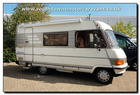 southdowns used hymer 544 motorhome trade sale u2225 4