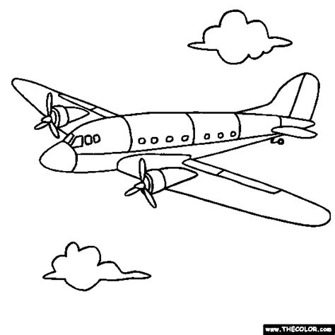 aeroplane coloring pages online airplane coloring pages