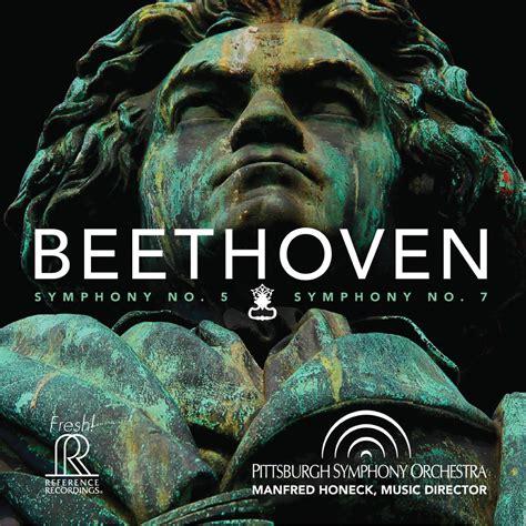 beethoven symphony no 5 fr718sacd beethoven symphony no 5 and no 7 albums