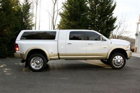 purchase used custom 2012 ram 3500 longhorn tractor
