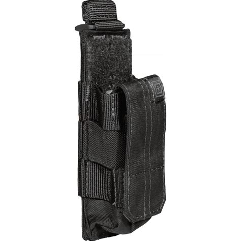 5 11 tactical pistol bungee cover magazine pouch black