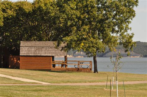 Lewis And Clark Lake Cabins by Area Cgrounds Southeast South Dakota Tourism