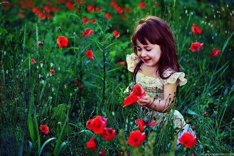 hd wallpaper cute little girl sweet little girl in garden cute full hd wallpaper