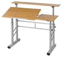 Safco Split Level Drafting Table Tables And Work Surfaces Blick Materials