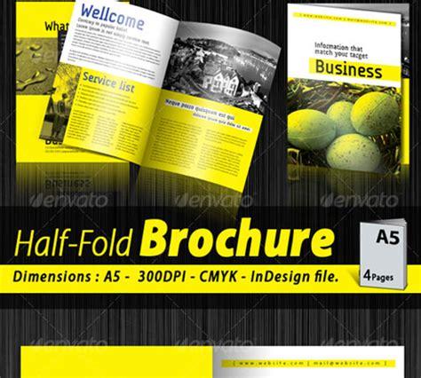 45 Revisable Premium Brochure Template Designs Naldz Graphics A5 Brochure Template Indesign