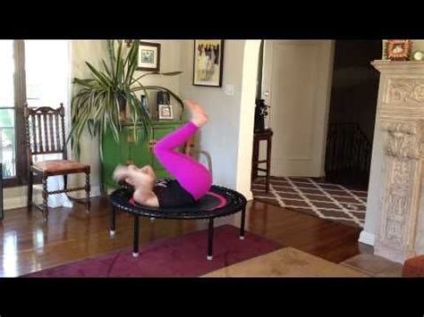 17 best ideas about rebounding exercise on rebounding rebounder workout and mini