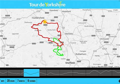 the 2017 tour de yorkshire see maps of the routes tyne tees itv sheffield route announced for 2017 tour de yorkshire ride