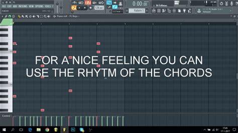 tutorial fl studio edm how to make edm chords melodies easy fl studio tutorial