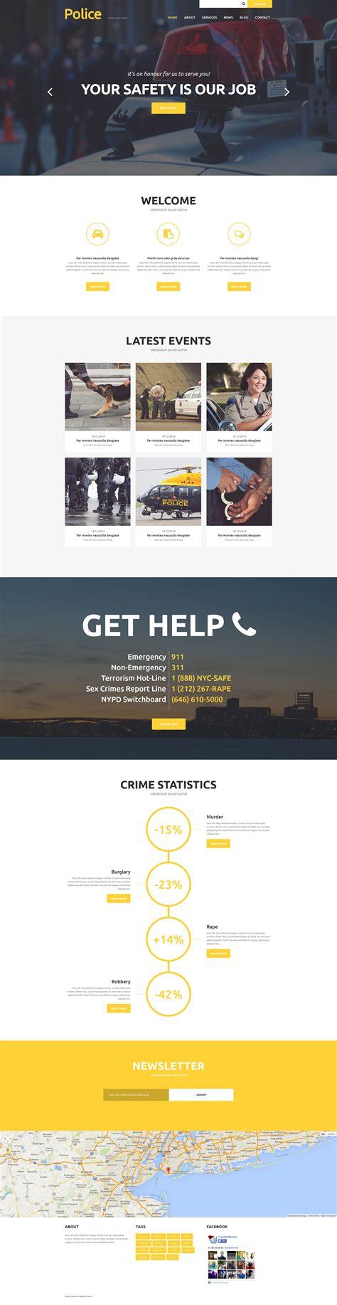 Joomla Design Vorlage joomla vorlage 52578 f 252 r polizei