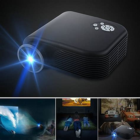 Original Projektor Home Theater Cinema Media Player Proyektor 2017 projectors warranty included xinda screen projectors 1080p home cinema theater