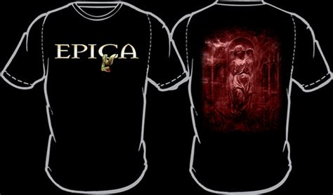 The Agony T Shirt Jpg epica merchandise