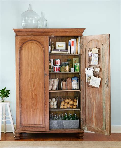 Pantry Armoire by Best 25 Armoire Pantry Ideas On Armoire