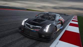 Cadillac Race La Auto Show Cadillac Ats V R Race Car Is Set For Gt3 Racing