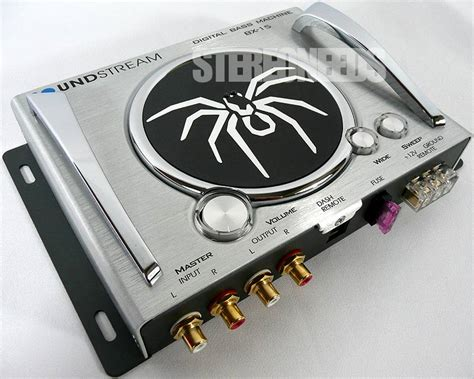 soundstream bx 15 digital bass processor car stereo sub